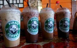 delivery air minuman pirate coffee
