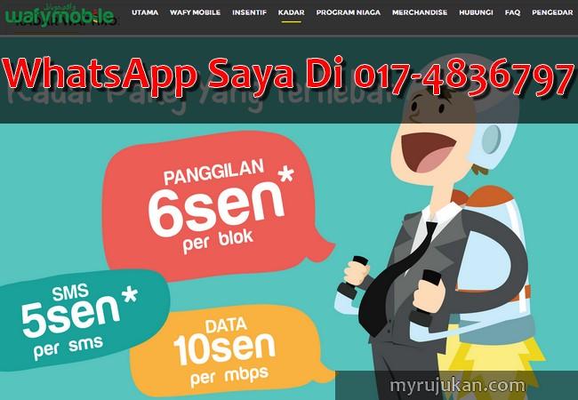 WafyMobile – Telco MVNO Malaysia Terbaru 2016