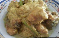 Masakan Ayam Masak Serai Cili Padi Berkrim
