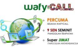 Buat panggilan murah dengan WafyCall