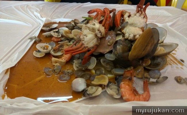 Makan shell out di Laguna Merbuk Kedah