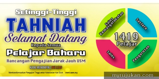 Program part time study di USM Penang