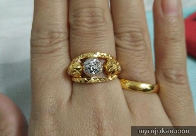 cincin merisik dan tunang