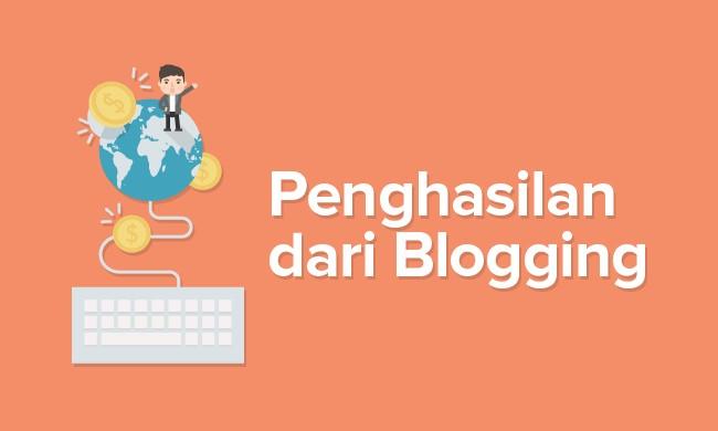 senarai sumber pendapatan dari blog