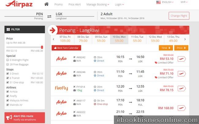 Cara mendapatkan tiket kapal terbang murah