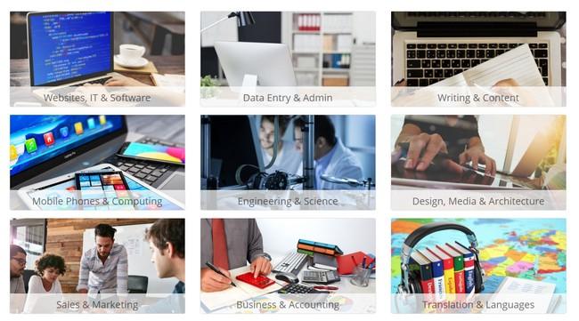 Contoh kategori kerja bebas freelancer dari rumah