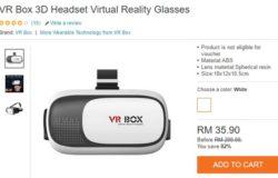Set realiti maya jenama VR Box