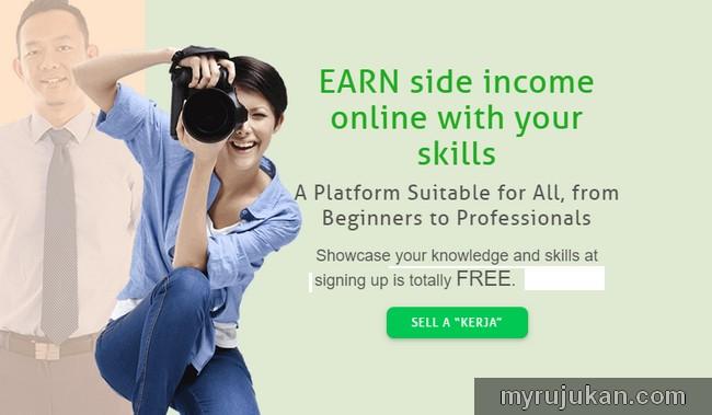 Jana side income dengan Fiverr versi Malaysia