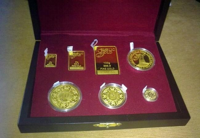 teknik gandaan pelaburan emas bar dan coin