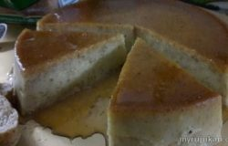 Puding Karamel Roti Chia Seed