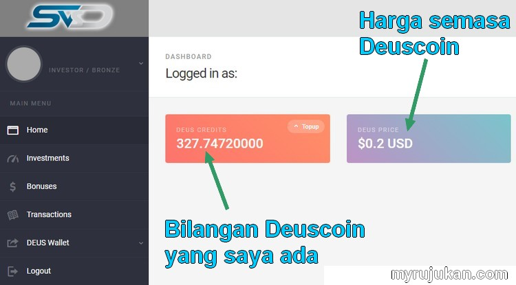 Beli matawang digital deuscoin cryptocurrency online