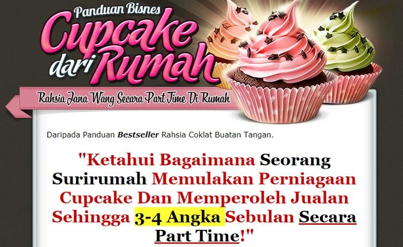DVD Panduan Bisnes Cup Cake