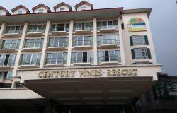 Gambar hadapan perkarangan hotel Century Pines Resort Cameron Highlands Pahang Malaysia