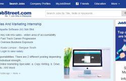 Website cari kerja kosong swasta di Jobstreet