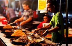 makanan adalah salah satu idea bisnes pasar malam yang baik