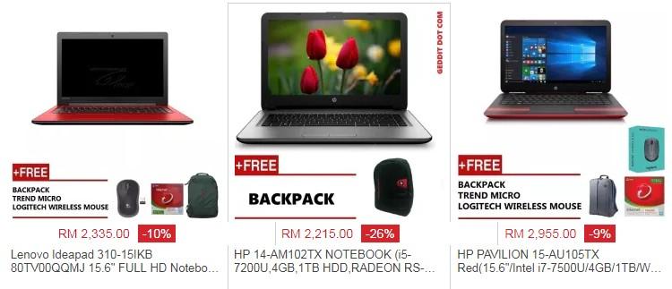 Beli laptop harga murah dengan spesifikasi gaming