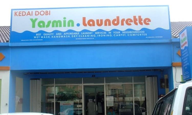 usahawan kedai dobi Malaysia