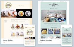 Contoh sebenar theme dan bentuk kedai online yang boleh anda bina dengan Easystore