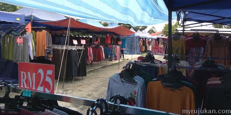 Harga pakaian seperti baju kurung murah di pasar kemboja parit buntar