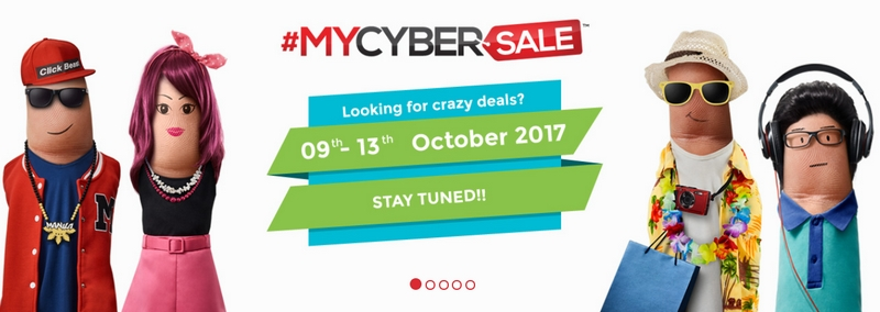 MyCyberSale 2017 will kick off from 9th to 13th October 2017