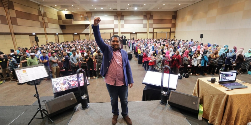 Seminar ilmu pelaburan saham percuma dari Dato Dr Nazri Khan