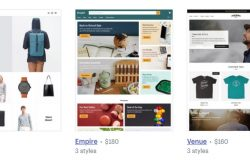 Shopify menawarkan theme shopping cart premium yang sangat cantik