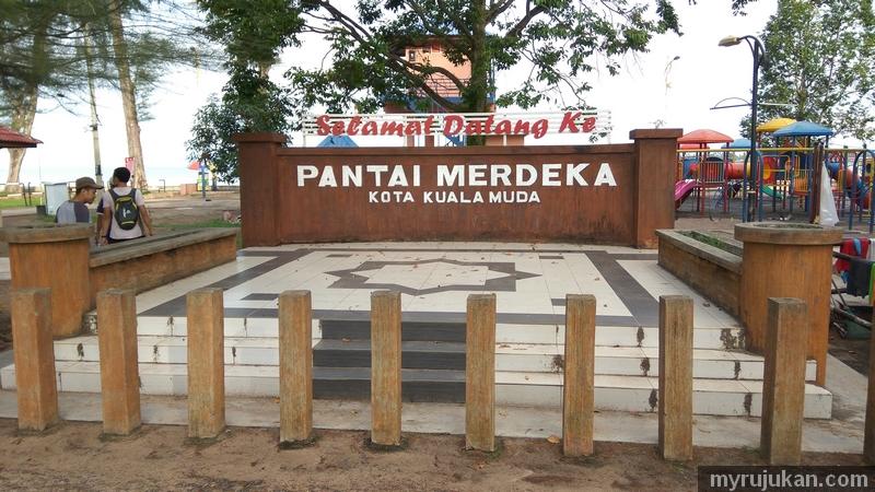 Lokasi pancing ikan terbaik di Pantai Merdeka kota Kuala Muda Kedah
