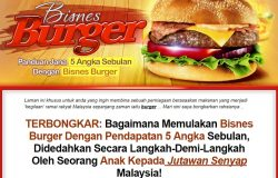 Panduan cara menjalankan dan berniaga burger