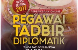 Panduan persediaan Peperiksaan Online Pegawai Tadbir Dan Diplomatik