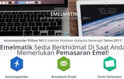 Servis pemasaran email yang murah dari Emelmatik