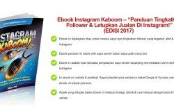 modul untuk teknik pemasaran instagram