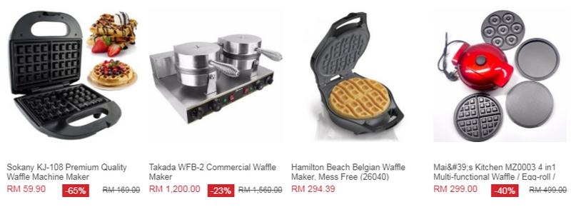 Alat untuk membuat waffle untuk anda menjual waffle