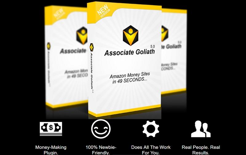 Bina kedai online Amazon dengan Associate Goliath Plugin
