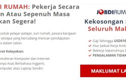 Contoh portal kerjaya online dari freelancer Malaysia