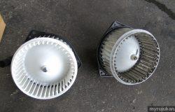 Gambar sebenar bentuk kipas angin blower fan yang lama dan yang baharu