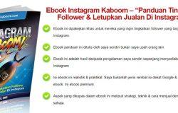 Panduan tingkatkan follower instagram dan juga bisnes online