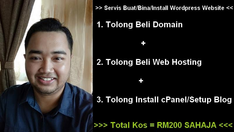 Tawaran servis dan pakej membuat website murah