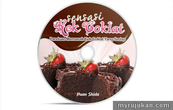 panduan membuat kek coklat sedap