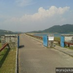 Mengkuang Dam - Jogging Area for Straight Way
