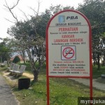 Mengkuang Dam - No Smoking Area