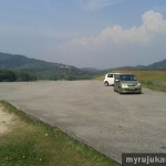Mengkuang Dam - Parking Zones for Car
