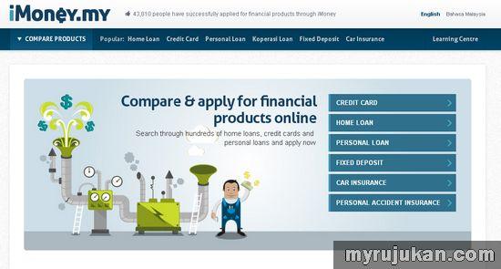 Perbandingan Kadar Pinjaman Perumahan Dengan iMoney