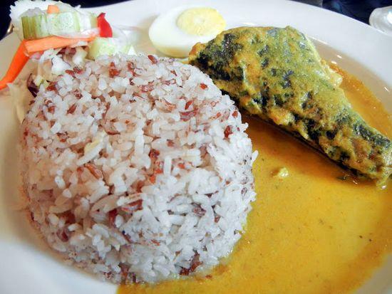 Nasi Dagang Gulai Ikan