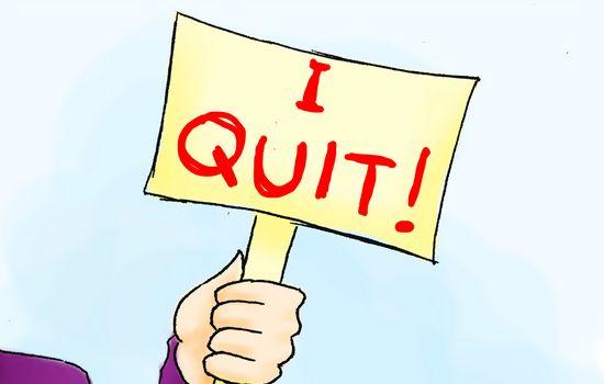 Surat Berhenti Kerja - Resign from Job