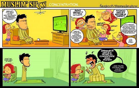 Dakwah Kreatif The Muslim Show Comic