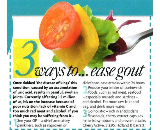 Cara Kurangkan Gout