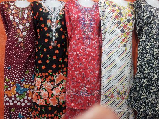 Peniaga Baju Kurung - Baju Kurung Cotton Manik