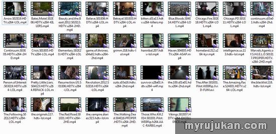 Senarai TV Series Dari US