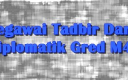Gambar Banner Pegawai Tadbir Diplomatik Gred M41