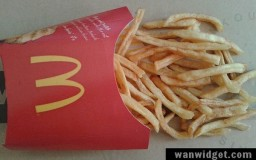 McDonald French Fries Malaysia